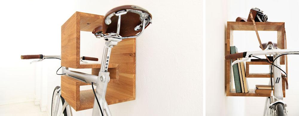 Fahrradhalterung Wand Holz mikili kappô fahrradhalterung für s wohnzimmer unhyped
