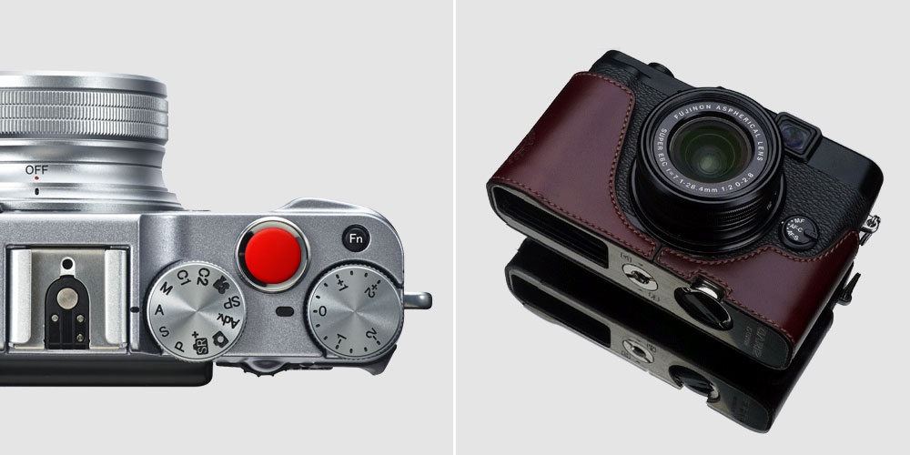 Fujifil-X10-X20-Zubehoer-Shutter-Release-Button-Half-Case