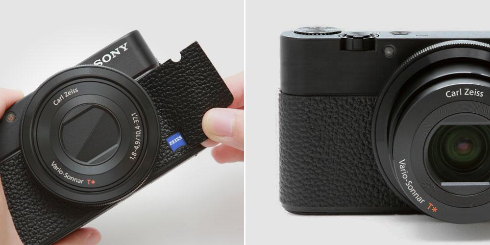 Sony-RX100-Belederung-Leather-Sticker