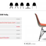 Vitra: Neue Website mit Konfigurator