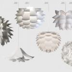 Lichtbausatz: Dekorative Hängeleuchten zum Stecken und Falten