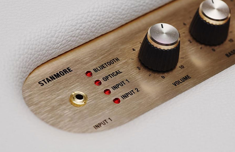 Marshall-Stanmore-Bluetooth-Lautsprecher-Detail