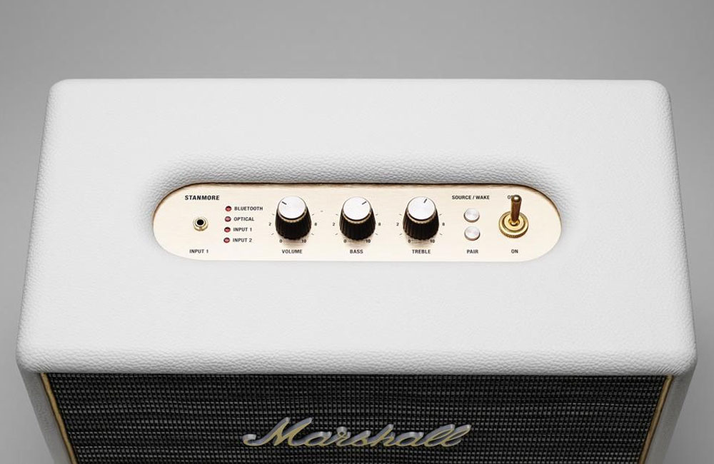 Marshall-Stanmore-Bluetooth-Lautsprecher-Top-View