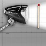 Kleines Kraftpaket: LED-Fahrradscheinwerfer IQ2 Eyc mit 50 Lux für 50 Euro