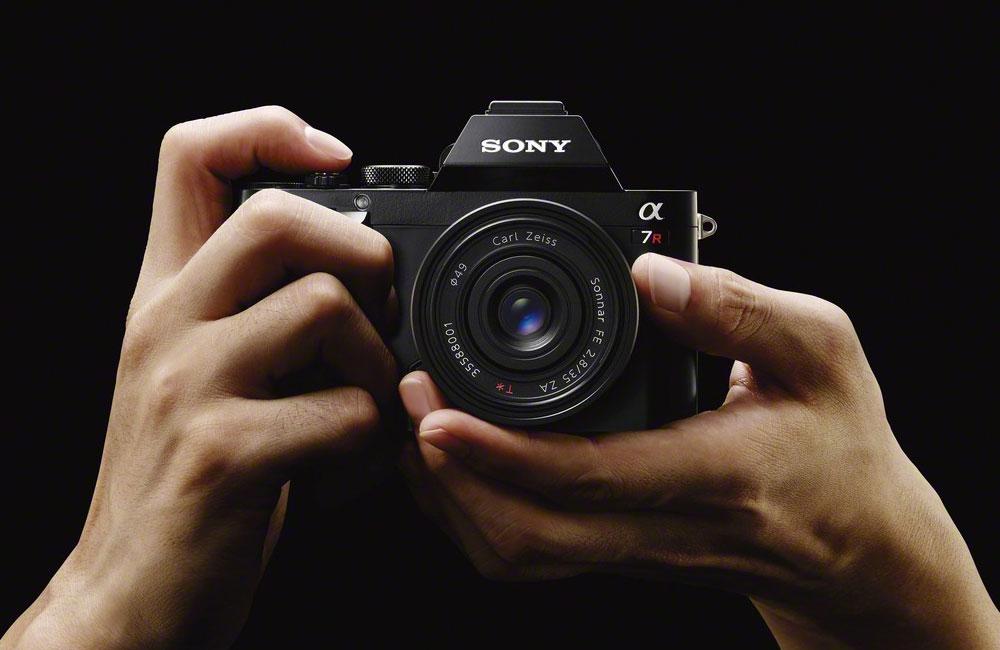Sony-Alpha-A-7-Spiegellose-Systemkamera-Vollformat-Sensor