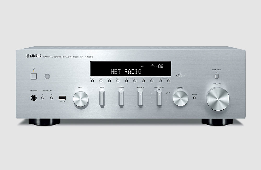 Yamaha-HiFi-Stereo-Receiver-R-N500-AirPlay