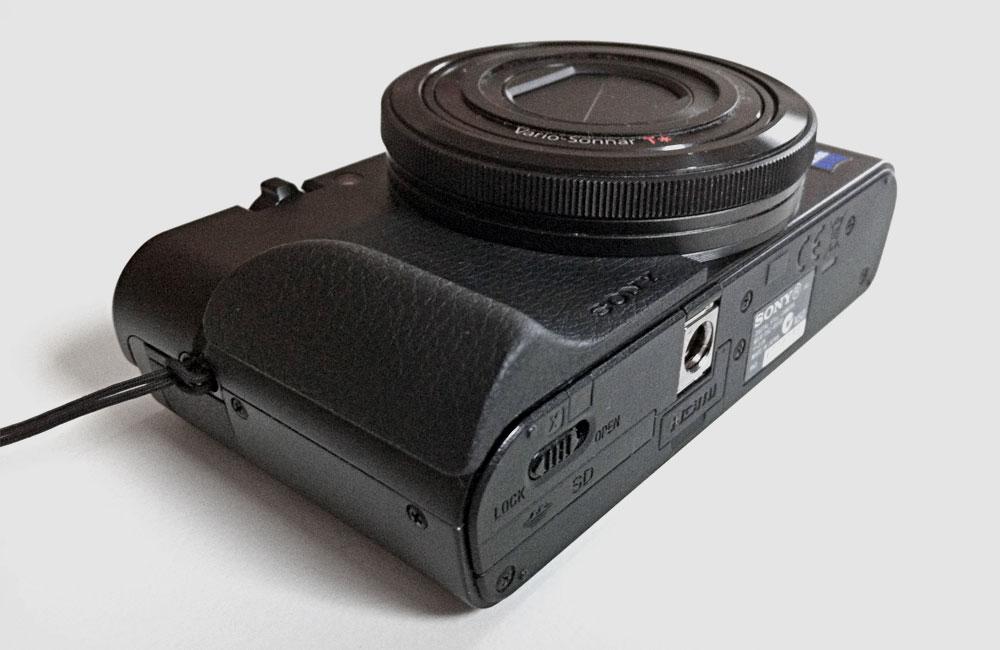 Sony-AG-R1-Haltegriff-RX100-II-M2-Aufgeklebt-Griff-Handgriff
