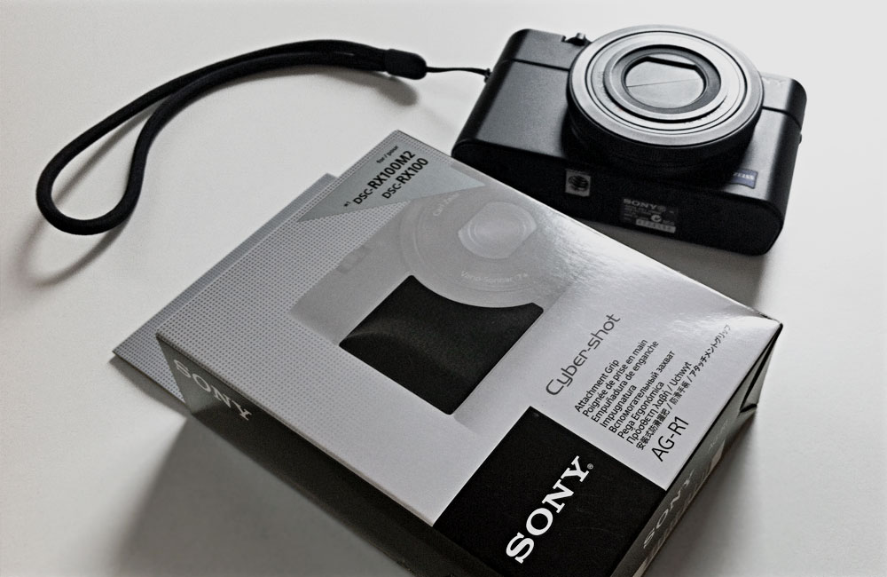 Sony-AG-R1-Haltegriff-RX100-II-M2-Verpackung-Griff-Handgriff