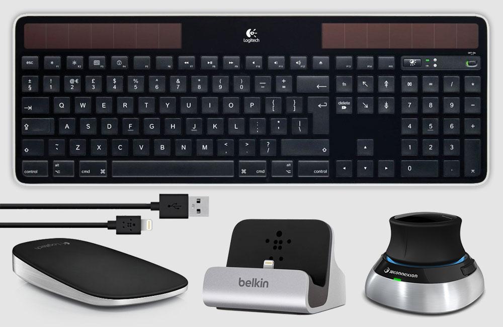 Apple-Mac-Pro-2013-Zubehoer-Schwarz-Black-Accessoires