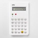 Bald auch in weiß: Der Taschenrechner-Klassiker ET66 von Braun