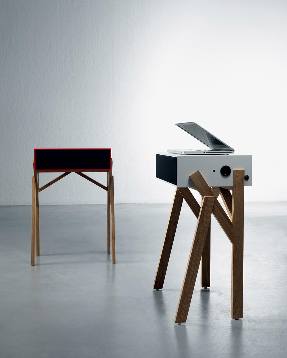 Miniform-Torototela-Media-Desk-Schreibtisch-Lautsprecher