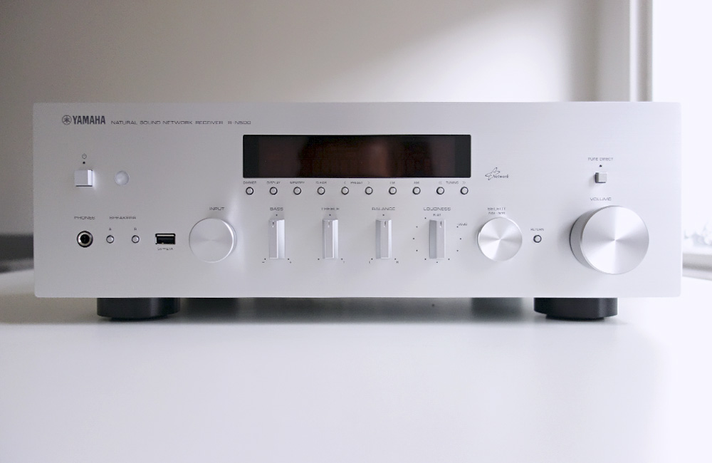 Yamaha-Network-Netzwerk-Receiver-R-N500-Review-Test-Front