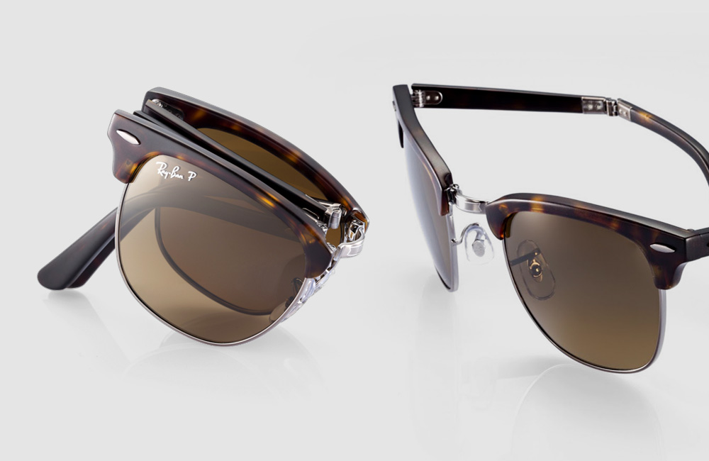 Ray-Ban-Folding-Clubmaster