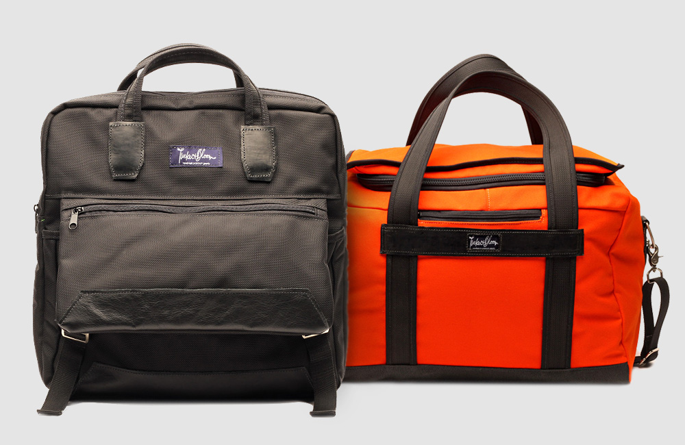 Tucker-And-Bloom-Miles-Laptop-Backpack-Tokyo-Canvas-Duffel-Bag