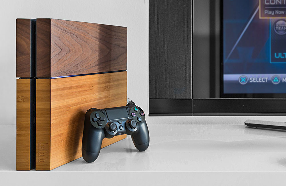 Balolo-Echtholz-Holz-Wood-Cover-Playstation-4