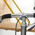 Flexibler Wandhalter für Fahrräder: Das Bike Dock von Flxble