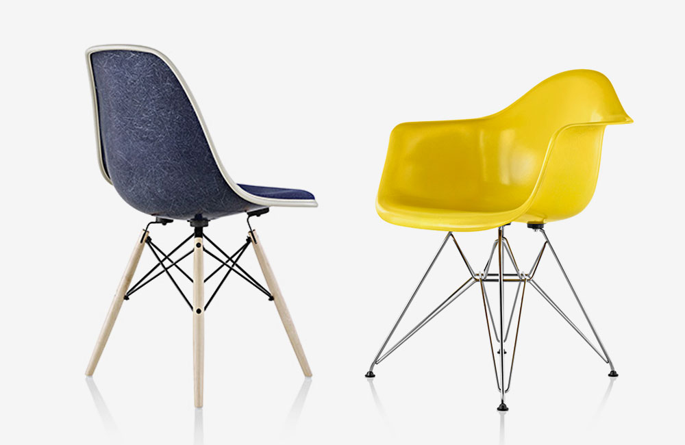 die eames fiberglass chairs sind wieder da unhyped. Black Bedroom Furniture Sets. Home Design Ideas