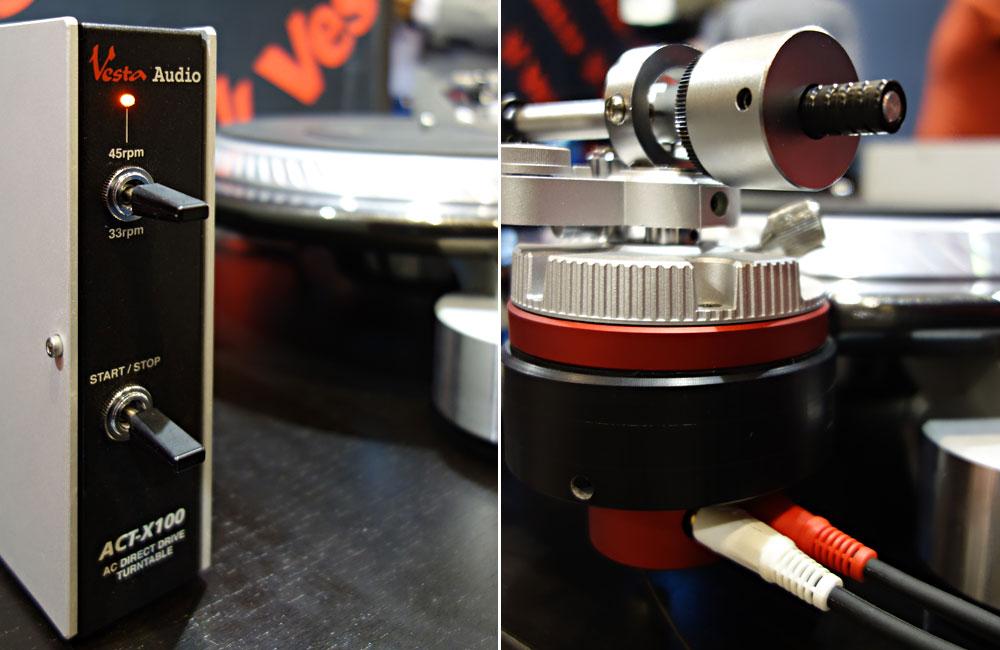 Vestax-Vesta-Audio-ACT-X100-HiFi-Turntable-Plattenspieler-Details-Musikmesse-2014