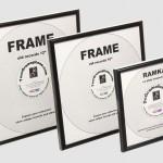 Preiswerte Bilderrahmen für Vinyl-Schallplatten in allen Größen
