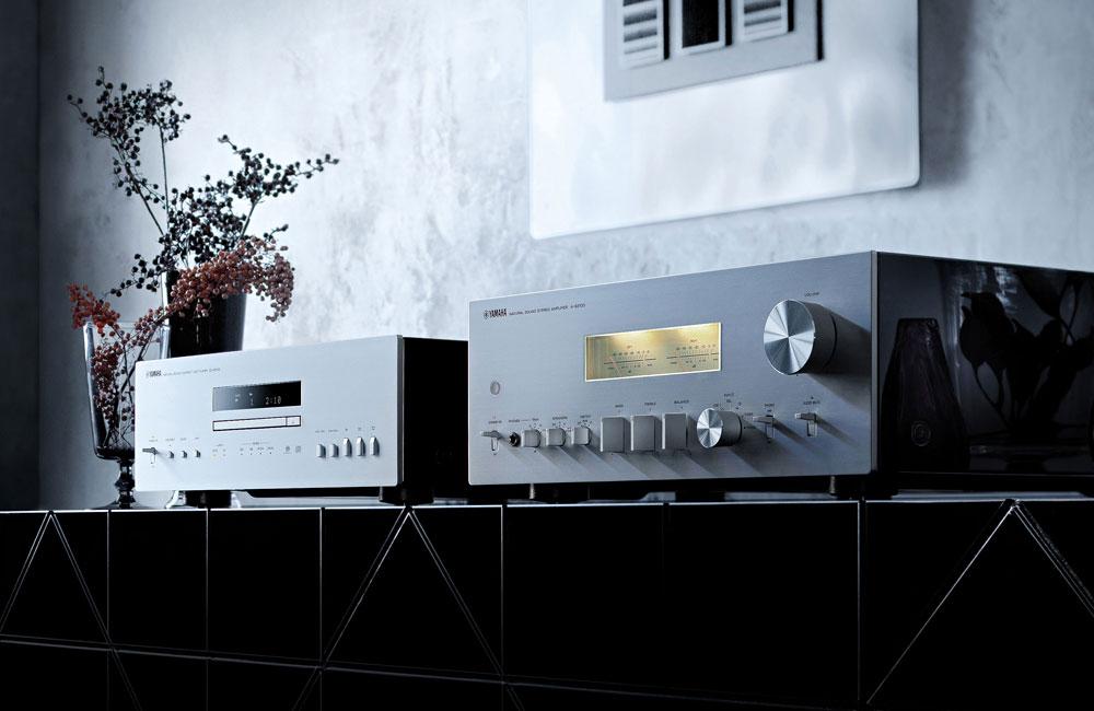Yamaha--Stereo-Verstaerker-A-S2100-CD-Player