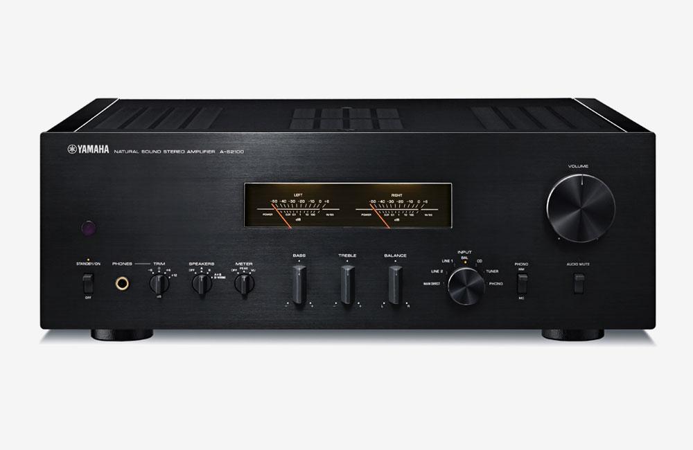 Yamaha--Stereo-Verstaerker-A-S2100-Schwarz
