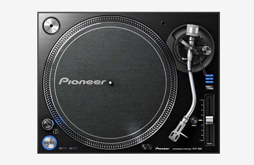 Pioneer-PLX-1000-Turntable-Plattenspieler-Draufsicht