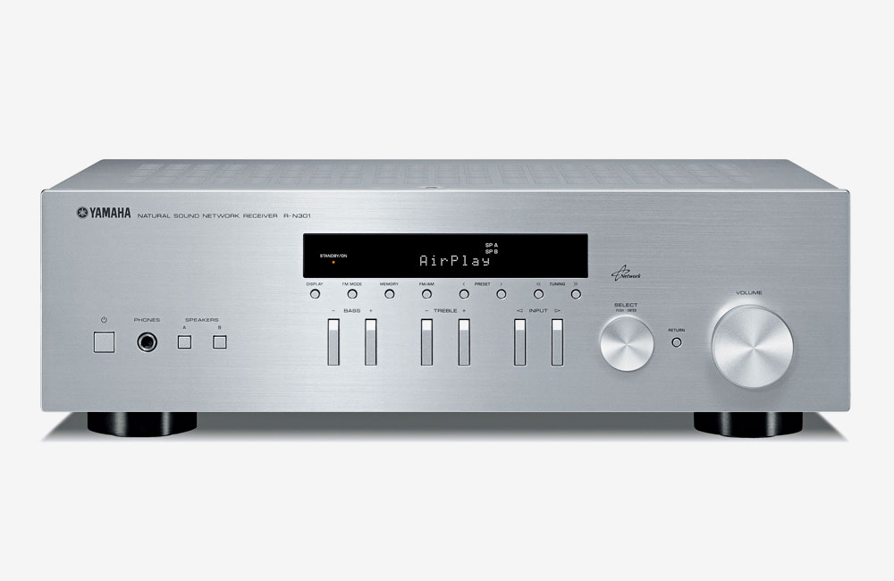 Yamaha-R-N301-HiFi-Stereo-Receiver-Streaming-AirPlay-Spotify-DLNA