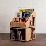 Hi Phile Record Cabinet: Das Plattenregal zum Zusammenstecken