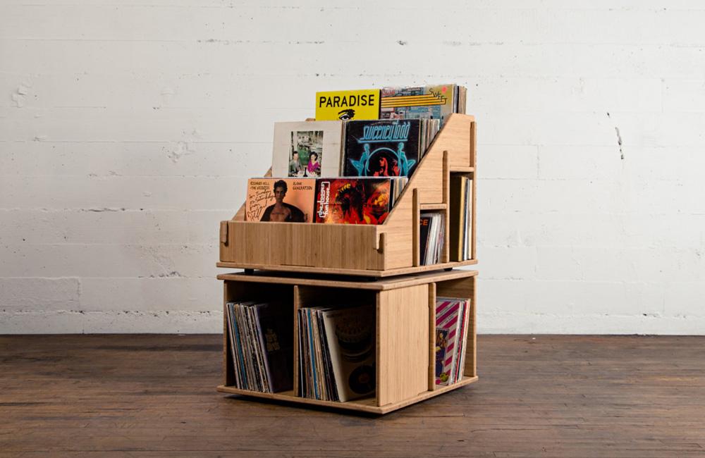 Hi Phile Record Cabinet: Das Plattenregal zum Zusammenstecken - unhyped.