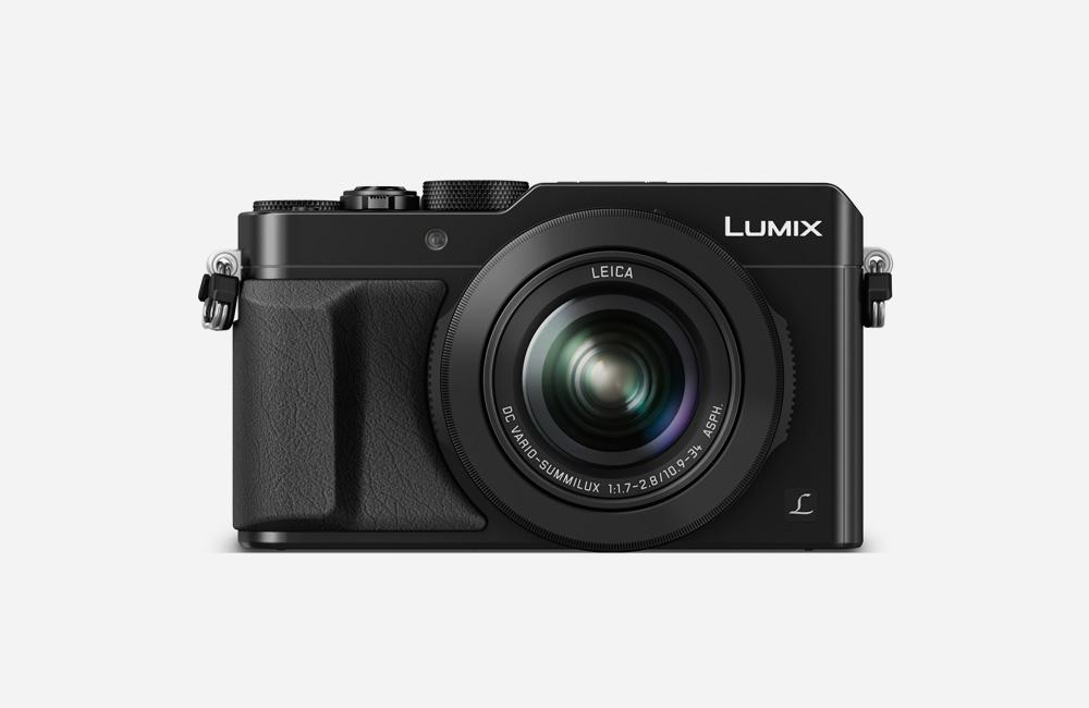 Panasonic-Lumix-LX100-Four-Thirds-Kompaktkamera-Front