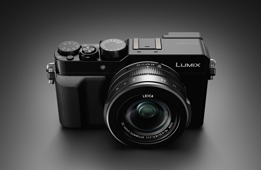 Panasonic-Lumix-LX100-Four-Thirds-Kompaktkamera