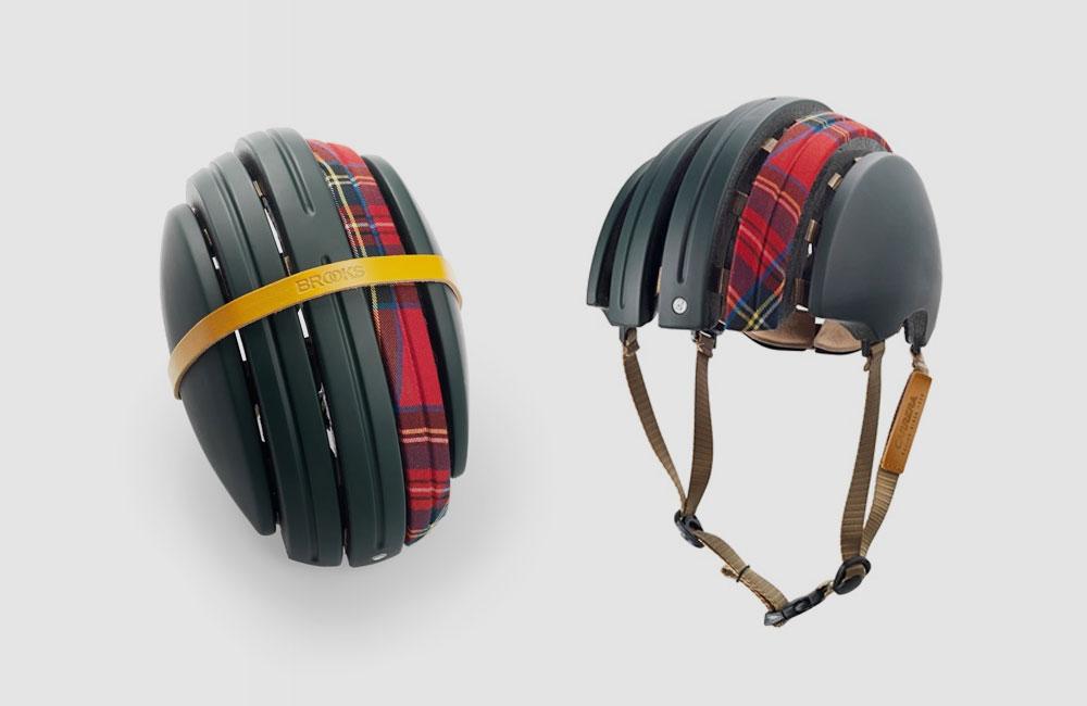 Brooks-JB-Special-Carrera-Fahrrad-Helm-Fahrradhelm-Faltbar-Gruen