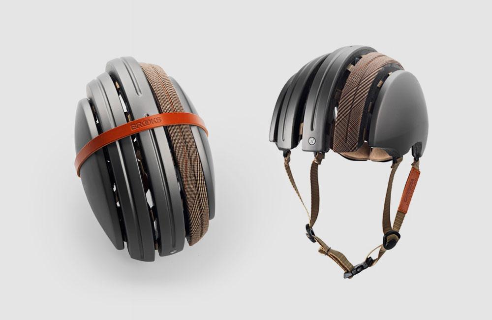 Brooks-JB-Special-Carrera-Fahrrad-Helm-Fahrradhelm-Faltbar-Schwarz