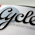 Frisch am Kiosk: Cycle, das Bike & Style Magazin