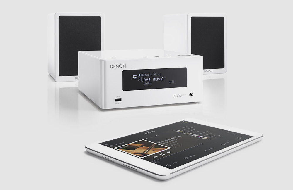 Denon-CEOL-N4-Kompakt-Streaming-Musiksystem-Bluetooth-AirPlay-Stereo-Weiss
