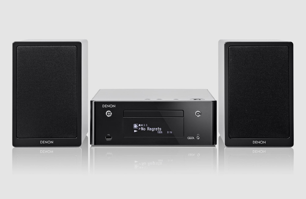 Denon-CEOL-N9-Kompakt-Streaming-Musiksystem-Bluetooth-AirPlay-Stereo-Schwarz