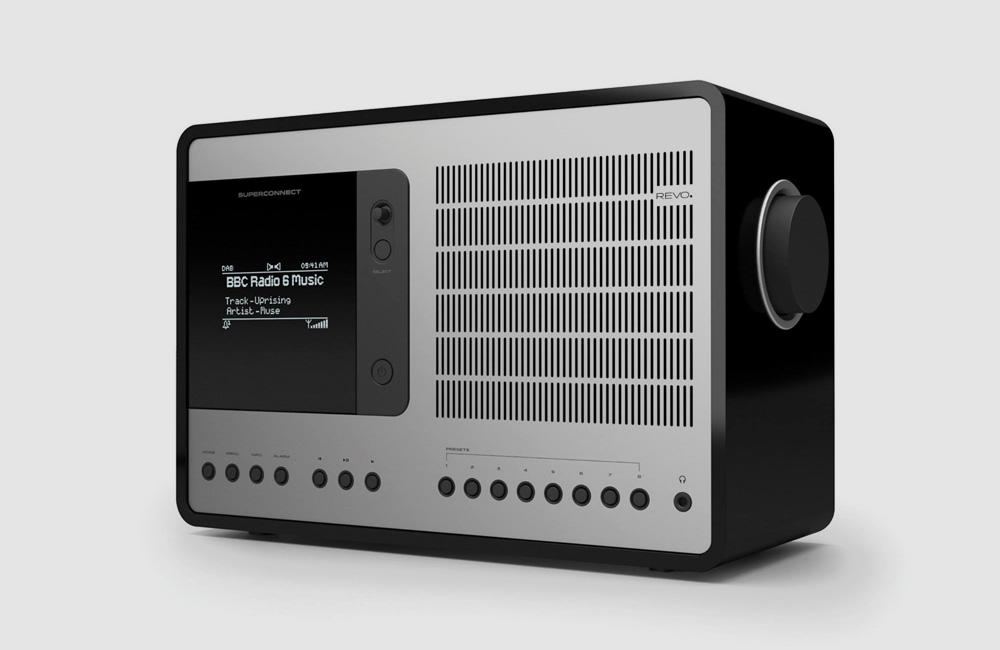 Revo-SuperConnect-DAB-Digital-UKW-Radio-Bluetooth-Soeaker-Classic-Vintage-Piano-Black-Schwarz