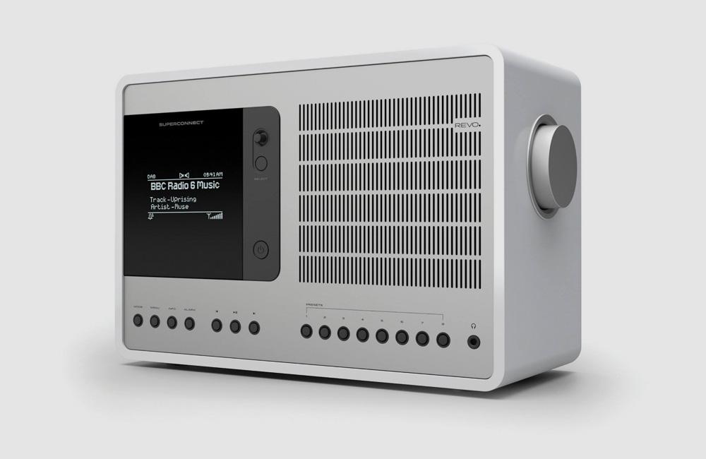 Revo-SuperConnect-DAB-Digital-UKW-Radio-Bluetooth-Soeaker-Classic-Vintage-Piano-White-Weiss