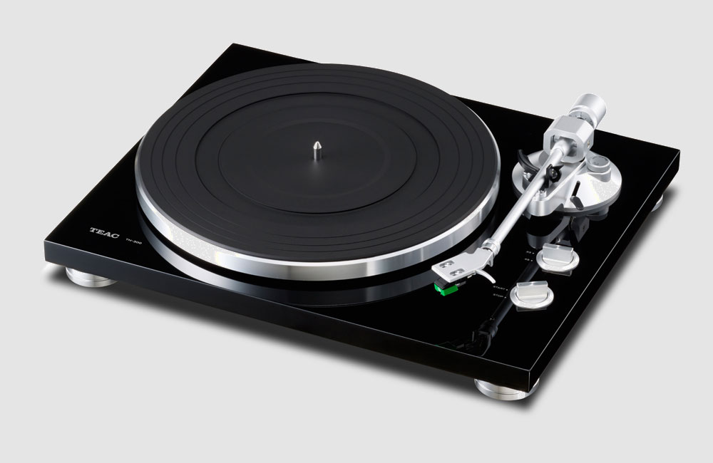 Teac-TN-300-Turntable-Plattenspieler-Schwarz