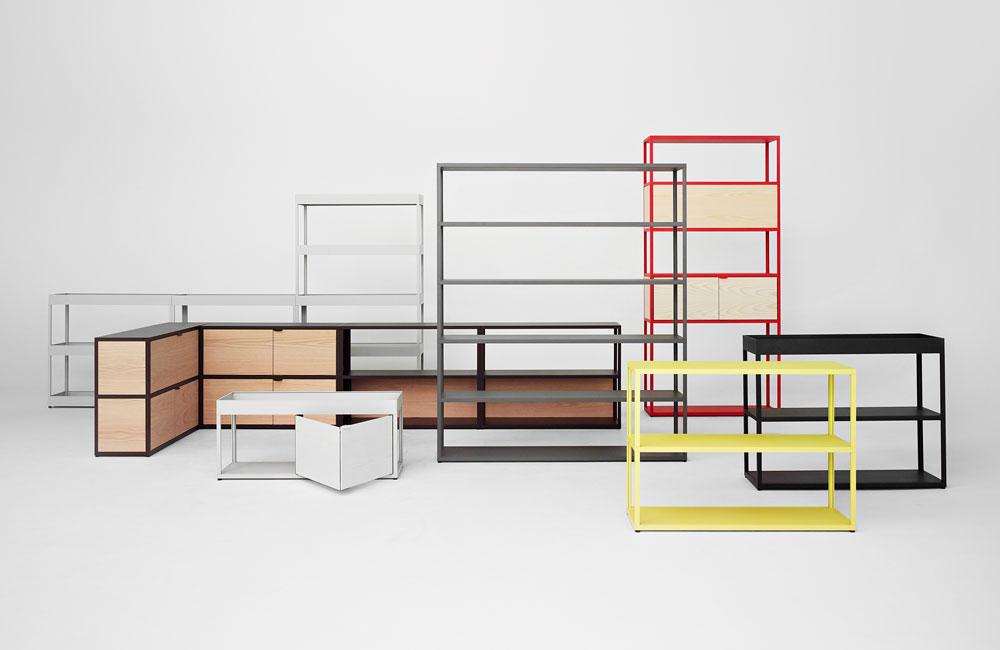 new order neues regalsystem von hay unhyped. Black Bedroom Furniture Sets. Home Design Ideas