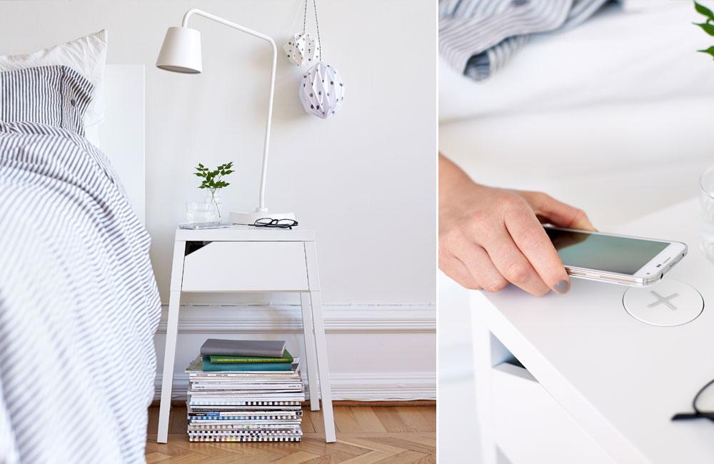 ikea homesmart clevere l sungen zum drahtlosen aufladen von smartphones unhyped. Black Bedroom Furniture Sets. Home Design Ideas