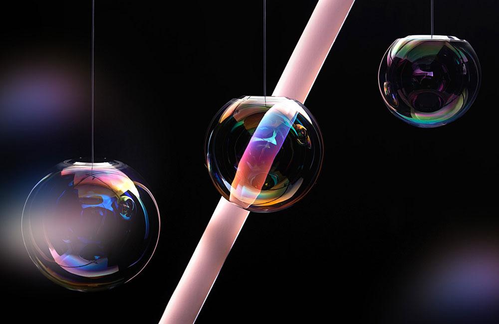 Neo-Craft-Iris-OLED-Lampe-Irisierend-Dichroitisches-Glas-1