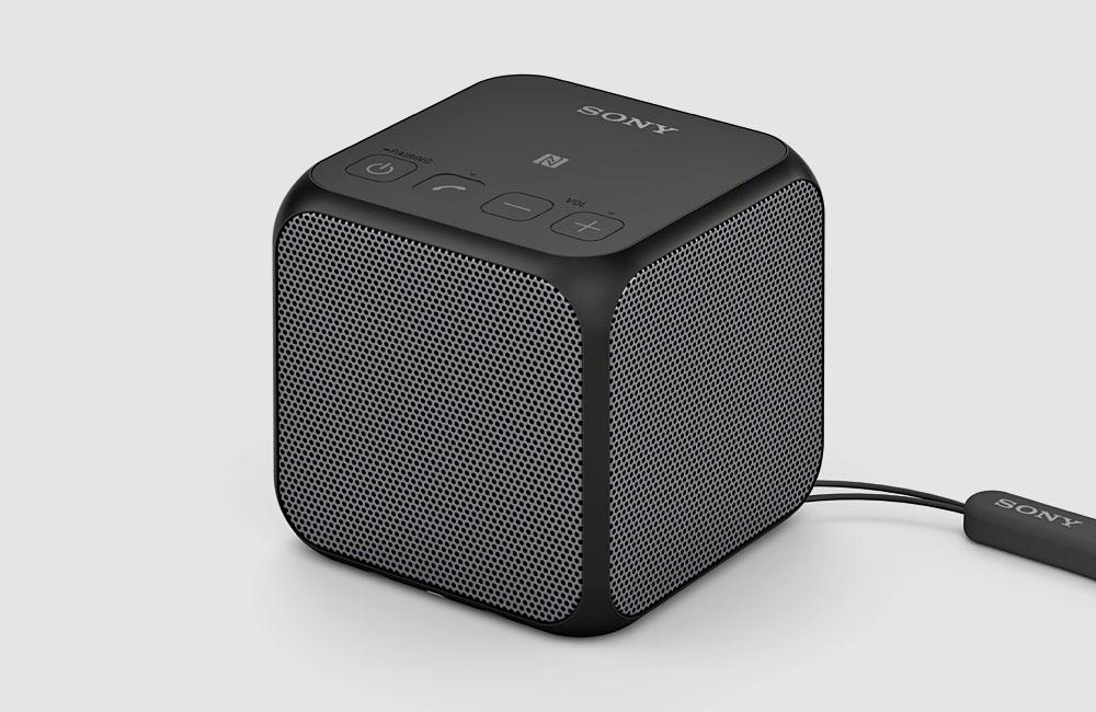 Sony-SRS-X11-Mini-NFC-Bluetooth-Lautsprecher-mit-Akku-Schwarz