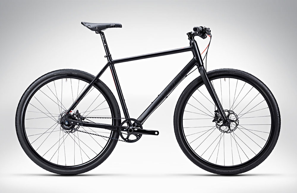 Gates belt drive commuter bike