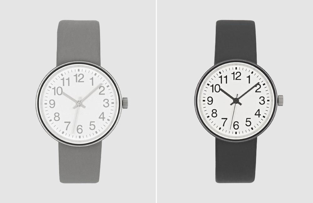 Muchi-Watch-Light-Dark-Grey-Armbanduhr-Uhr-Hellgrau-Dunkelgrau