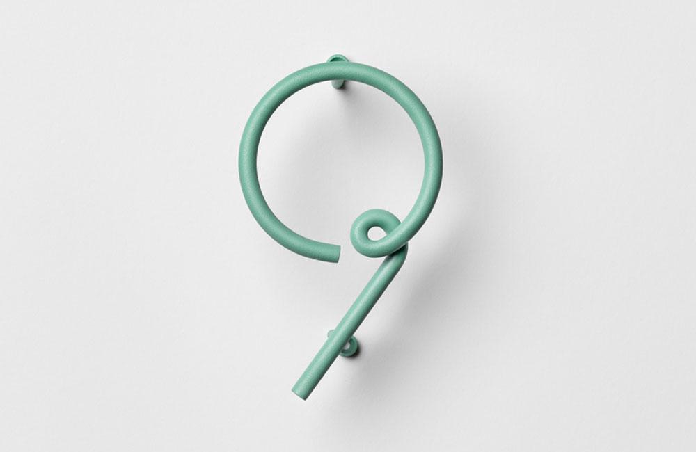 NAkNAK-Wire-Number-Gebogene-Bunte-Hausnummer-Stahl-1