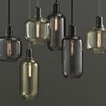 Inspiriert von klassischen Röhrenverstärkern: Leuchtenserie Amp von Normann Copenhagen