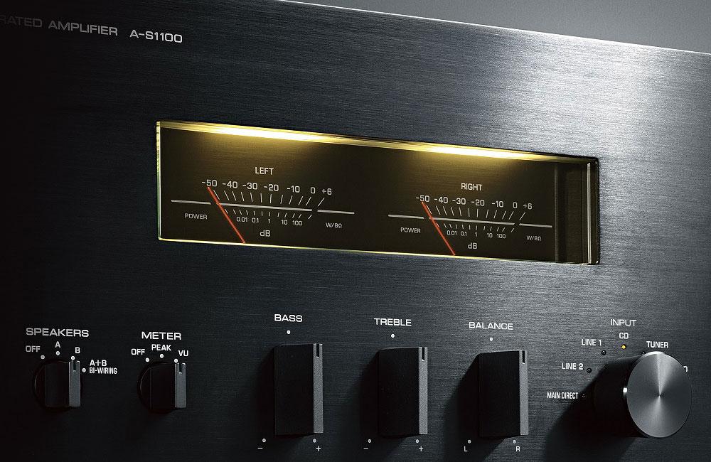 Yamaha-A-S1100-HiFi-Amplifier-Verstaerker-VU-Meter-1