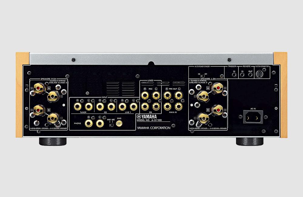 Yamaha-A-S1100-HiFi-Amplifier-Verstaerker-VU-Meter-3