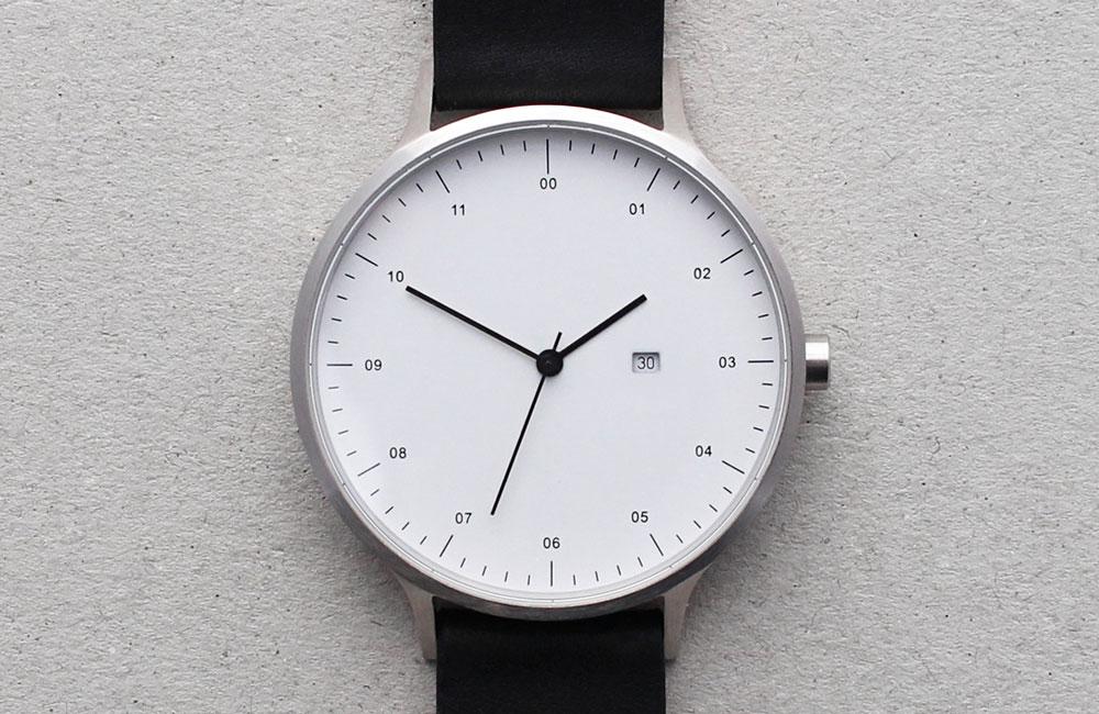 minimalistische armbanduhr instrmnt 01 unhyped. Black Bedroom Furniture Sets. Home Design Ideas